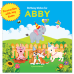 Birthday Wishes for Kids: Personalized Book & Birthday Book