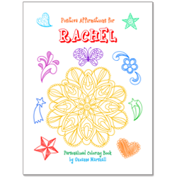 Positive Affirmations for Kids (Personalized Coloring Book)