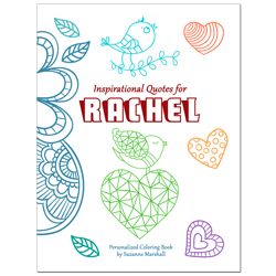 Inspirational Quotes for Kids (Personalized Coloring Book)