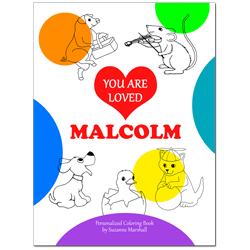 You Are Loved (Personalized Coloring Book)