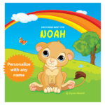 Encouragement for You (You Can Do It!) Personalized Book