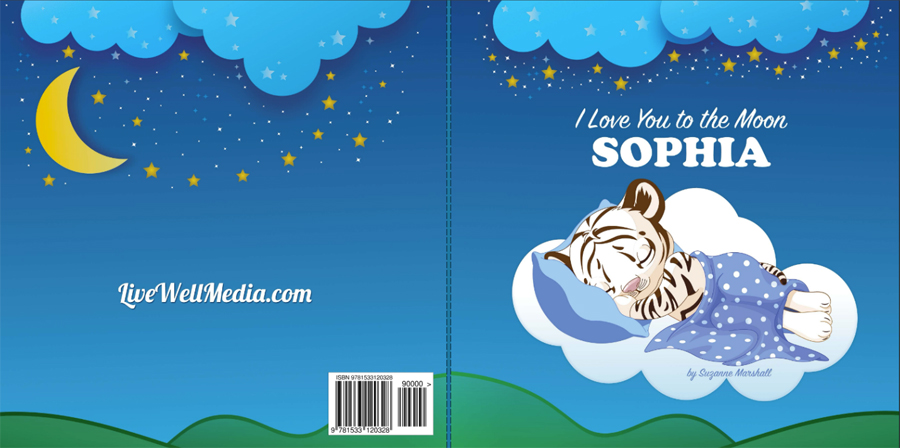 I Love You to the Moon: Bedtime Story for Kids and Personalized Book with Good Night Poems and Love Poems for Kids